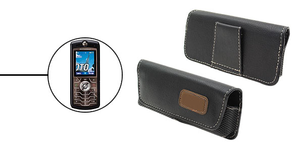 Faux Leather Case Holder for Mobile Phone Motorola L7