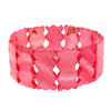 Fashion Jewelry Griskin Motif Handcrafted Pink Shell Bracelet@