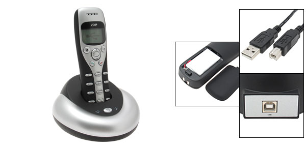 Wireless USB VOIP Phone Handsfree For Skype Internet