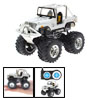 Toy - Radio Remote Control RC Cross-country 4x4 Racing Car-White@