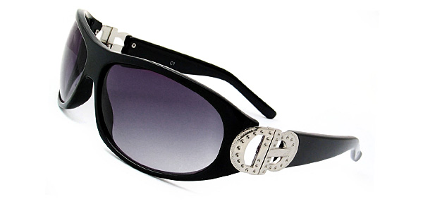 Monaco Fashion of the World Women Sunglasses (548) Black Frame