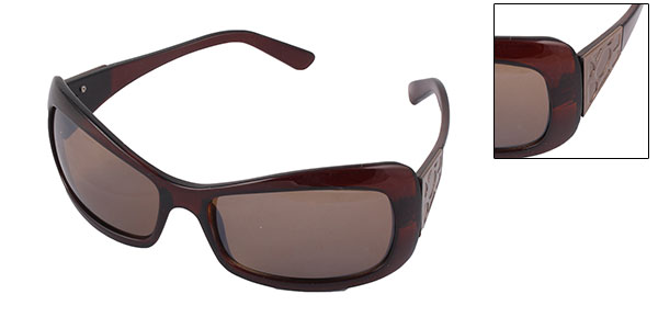 Monaco Fashion of the World Sunglasses  (7045)-Brown Lens@