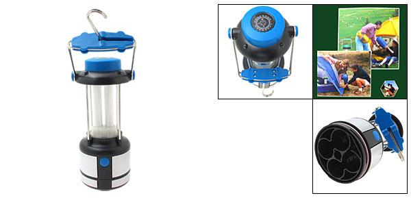 Super Bright Lantern Compass Light for Outdoor Sports Blue