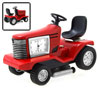 Fashion Unique Metal Red Weeding Machine Style Desk Clock@