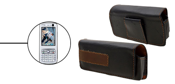 Faux Leather Case Holder for Nokia N73