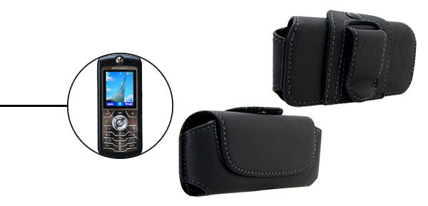 Faux Leather Case for Motorola L7