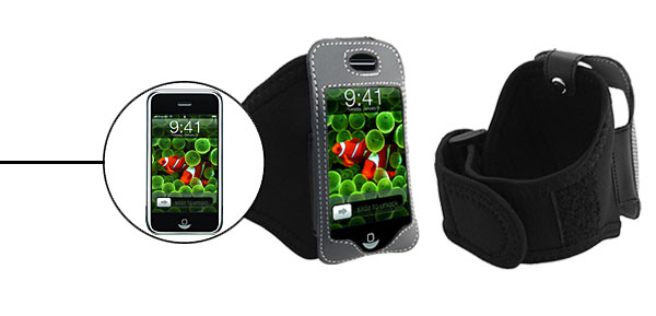 Sports Black Armband Case for Apple iPhone 1st Generation