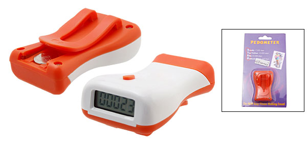 Mini Waist Shape Digital Pedometer w.Belt
