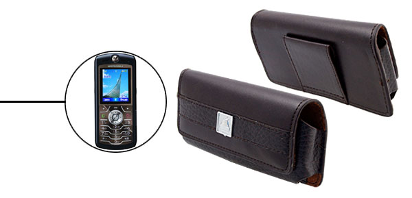 Leather Case Holder for Motorola L7