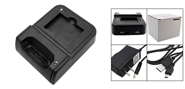 US Plug 110-240V AC/DC Adapter Charger Cradle for Palm Treo 750