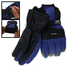 Skiing Snowboard Nylon Winter Snow Gloves Size M Blue