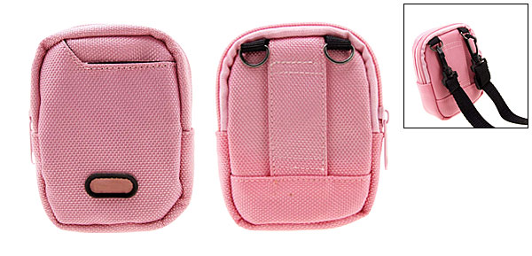 Mini Pink Portable Bag Case Pouch for Digital Camera