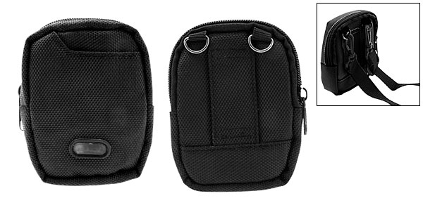 Cool Black Portable Bag Case Pouch for Digital Camera
