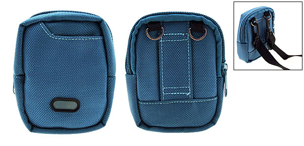 Mini Blue Portable Bag Case Pouch for Digital Camera