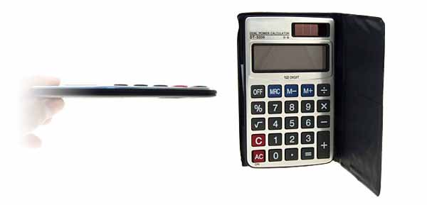 Battery Power Electronic Calculator
