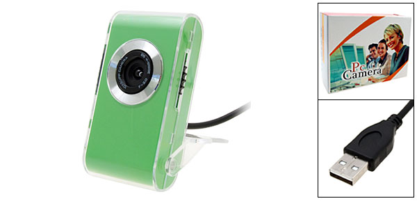 Drive-free 0.3 Mega Pixel Digital PC Camera USB Webcam for QQ