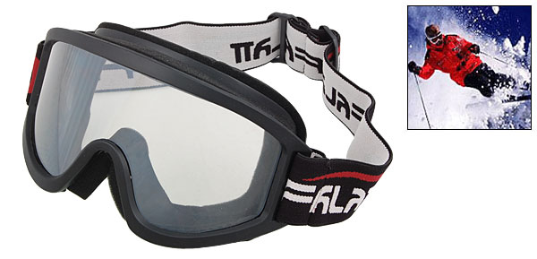 Transparent Lens Ski Snowboard Skate Sports Goggles Glasses -NV1312
