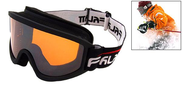 Amber Lens Ski Snowboard Skate Sports Goggles Glasses -NV1312