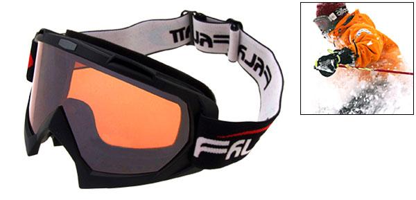 Amber Lens Ski Snowboard Skate Sports Goggles Glasses -NV1316