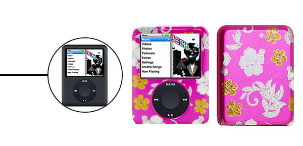 Plastic Hard Cover Case for iPod Nano 3G
