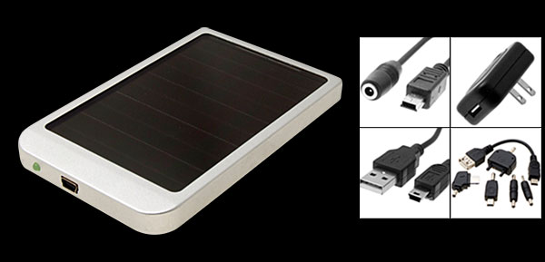 Portable Emergency Solar Charger For Cell Phone