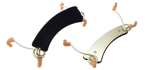 Size 4/4 - 3/4 Violin Shoulder Rest-Black