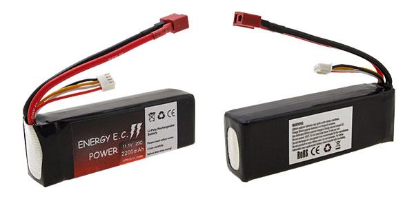 11.1V 20C 2200mAh Li-Poly Rechargeable Battery