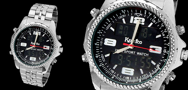 Fashion Multifunction Sports Night Vison Men Watch