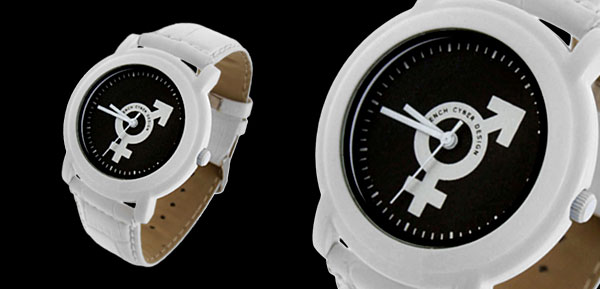 Fashion Jewelry Sex Symbol White Band Quartz Watch