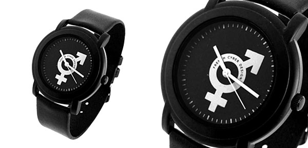 Fashion Jewelry Latin Sex Symbol Black Band Quartz Watch