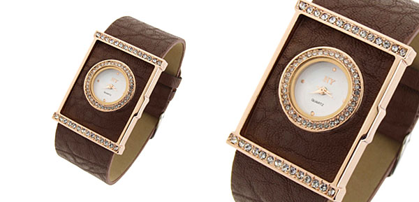 Fashion Jewelry Classic Ladies Wrist Fashion Watches Brown
