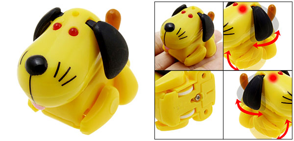 Toy - Yellow Doggy-Electronic Mascot Baby Toy