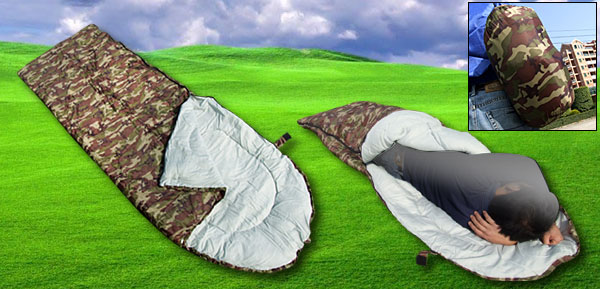 Camping Rectangular Army Sleeping Bag