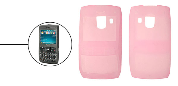 Pink Silicone Skin Case for Dopod C730