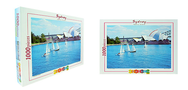 Toys- Educational Sydney Opera House Puzzles DIY Deck Designs