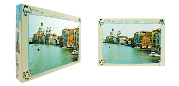 Toys- Educational Venice Jigsaw Puzzles DIY Deck Designs
