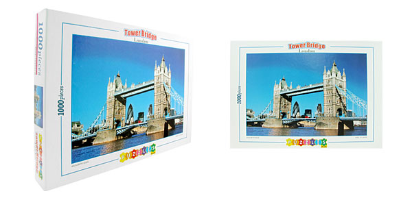 Toys- Educational Tower Bridge Jigsaw Puzzles DIY Deck Designs