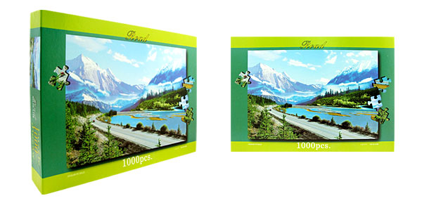 Toys- Educational Alpine Puzzles DIY Deck Designs