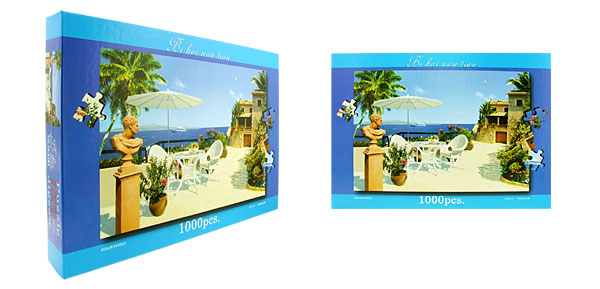Toys- Educational  Mediterranean Jigsaw Puzzles DIY Deck Designs