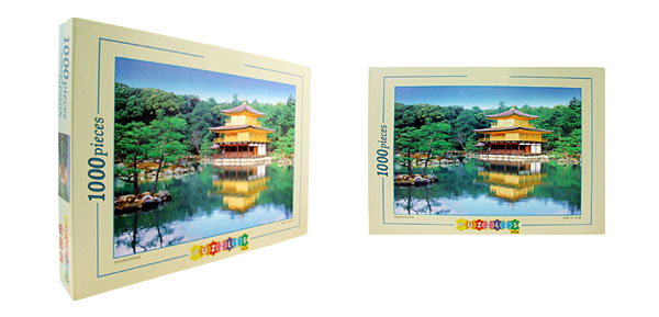 Toys- Educational Golden Pavilion Kyoto Jigsaw Puzzles DIY Deck Designs