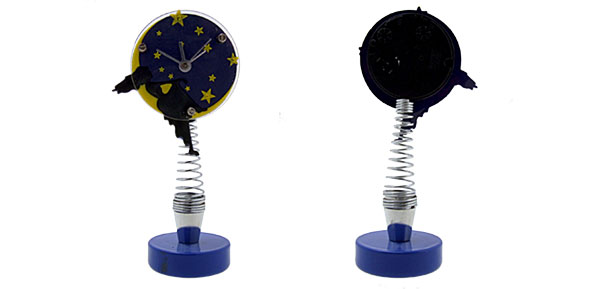 Blue Fashion Unique Cute Star Style Desk Clock