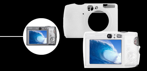 Silicon Skin Case Holder for Camera Canon iXus 950