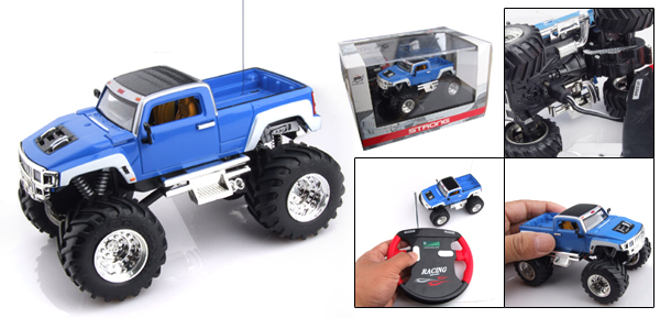 Toy - High Speed 2 LED Radio Control Racing RC Car Pickup Truck