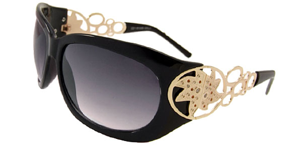 Royal Lady Fashion Black Eyewear Sunglasses