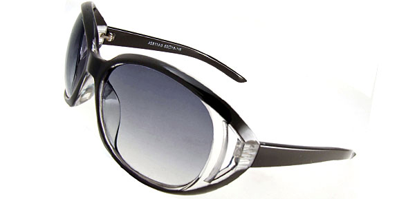 Classic Lady Fashion Black Sunglasses