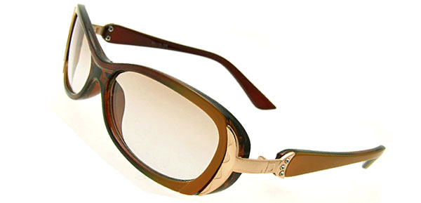 Chic Lady Fashion Brown Sunglasses