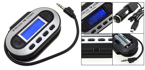 Wireless  FM Transmitter/Modulator for iPod MP3 PDA
