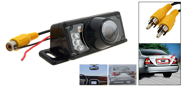 Car Rear View IR Camera - Under Carriage Mounting Design