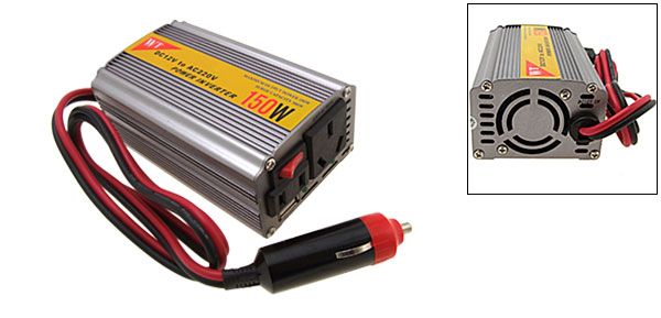 150 watts DC 12V to AC 220V Power Inverter 150W