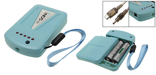 Blue Emergency Charger for Nintendo NDS Lite
